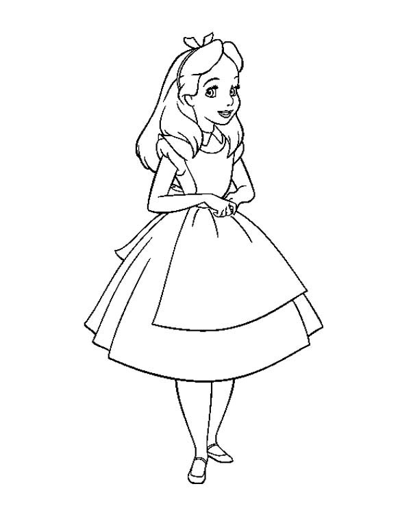 alice in wonderland christmas coloring pages fun coloring
