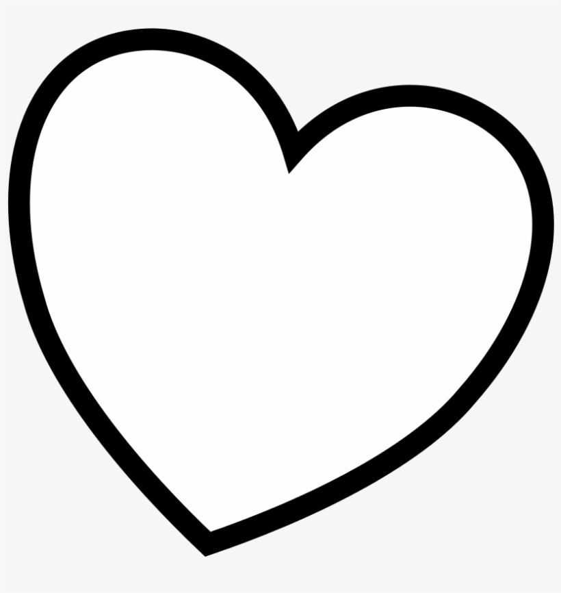 amazing black heart outline with heart coloring pages