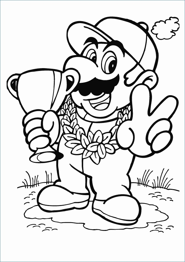ausmalbilder super mario genial mario luigi and toad