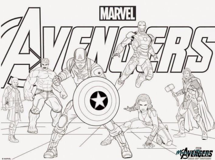 avengers assemble coloring pages