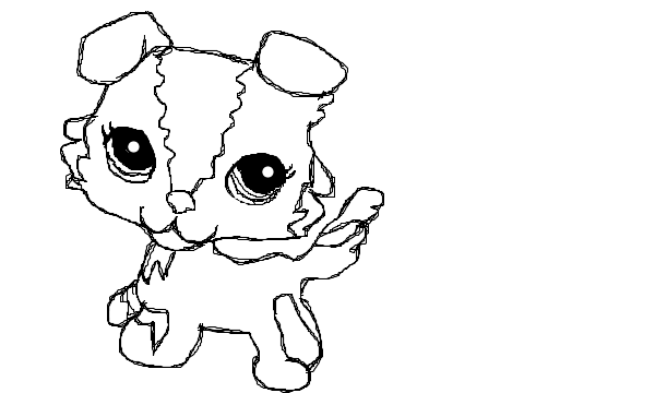 awesome dog coloring page lps drawings super coloring pages