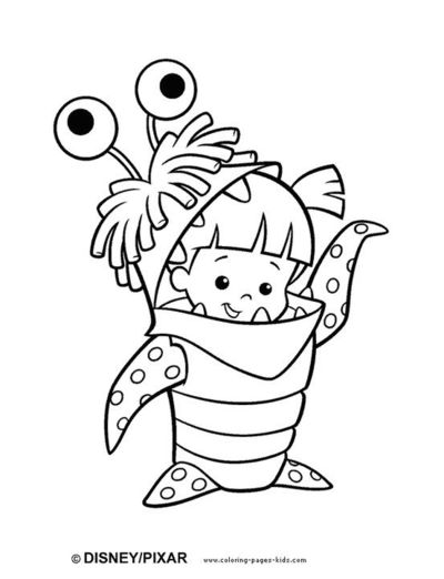 awesome site full of coloring pages for kids monsters inc