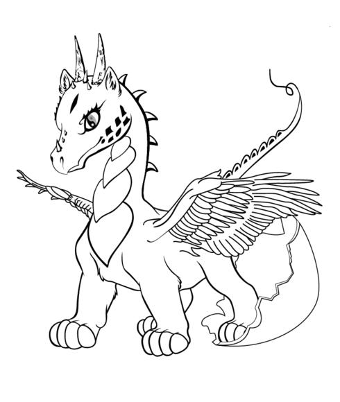 ba dragon coloring page school stuff dragon coloring