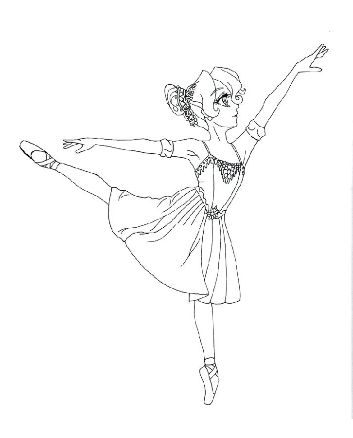 ballerina coloring book ballerina coloring pages to print