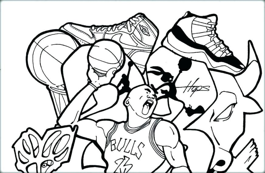 basketball coloring pages at getdrawings free for