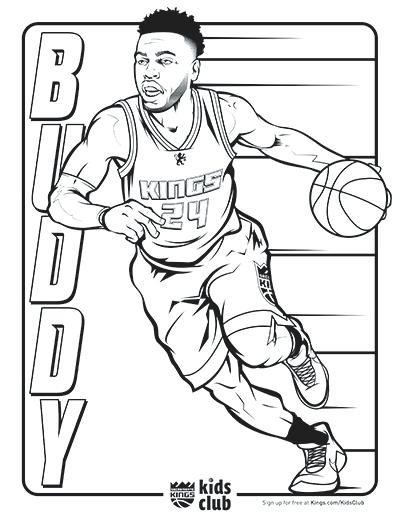 basketball coloring pages nba players
