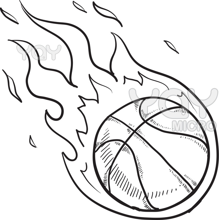 basketball coloring pages to print