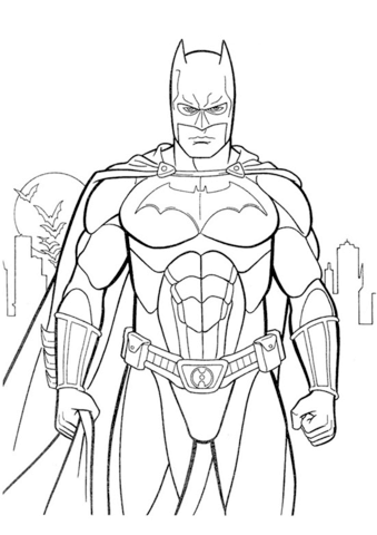 batman free coloring pages batman coloring page free