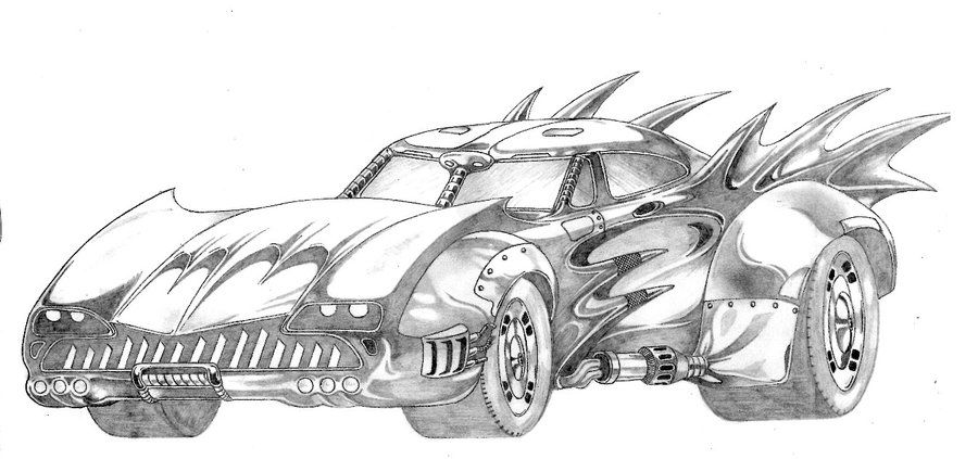 batmobile coloring pages batmobile famaulu on