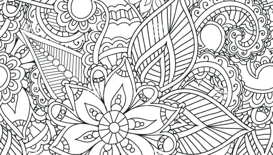 best abstract coloring pages free printable