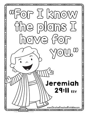 bible coloring pages joseph