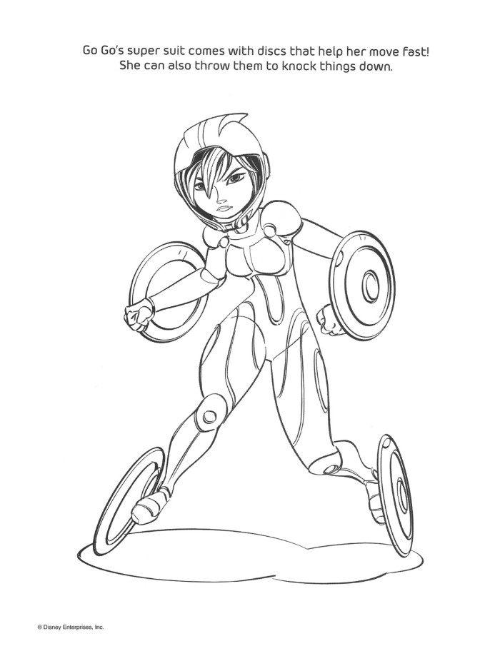 big hero 6 coloring page big hero 6 photo 37733024 fanpop