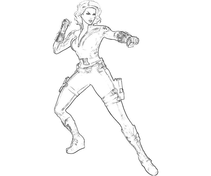 black widow marvel coloring pages marvel black panther