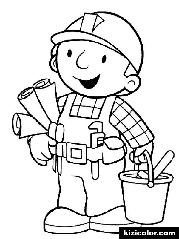 bob the builder 11 kizi free coloring pages for