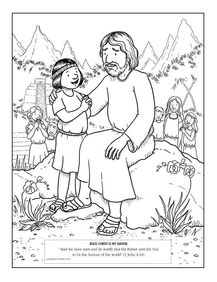 book of mormon coloring pages free