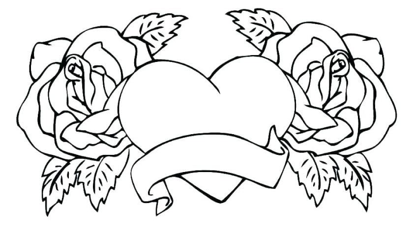 broken heart coloring pages javisebalierco