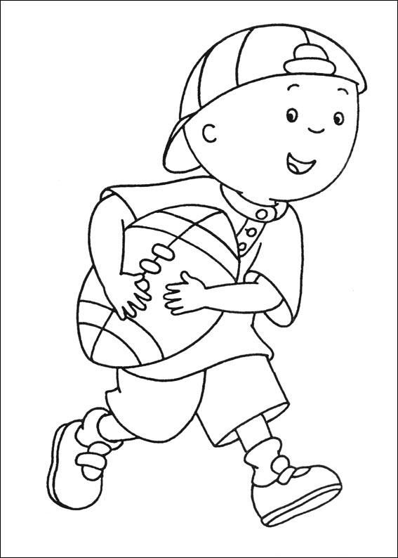 caillou coloring pages cartoon coloring pages caillou