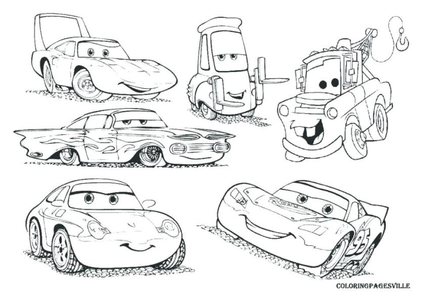 cars lightning mcqueen coloring pages free superfresco