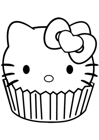 cartoon cupcake coloring pages kaigobank