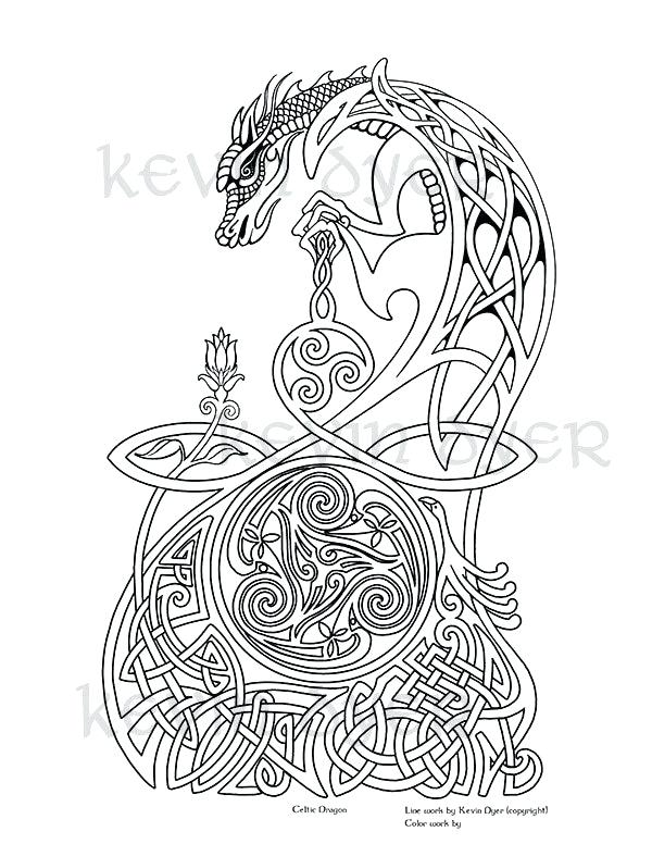 celtic coloring pages for adults page pickspro