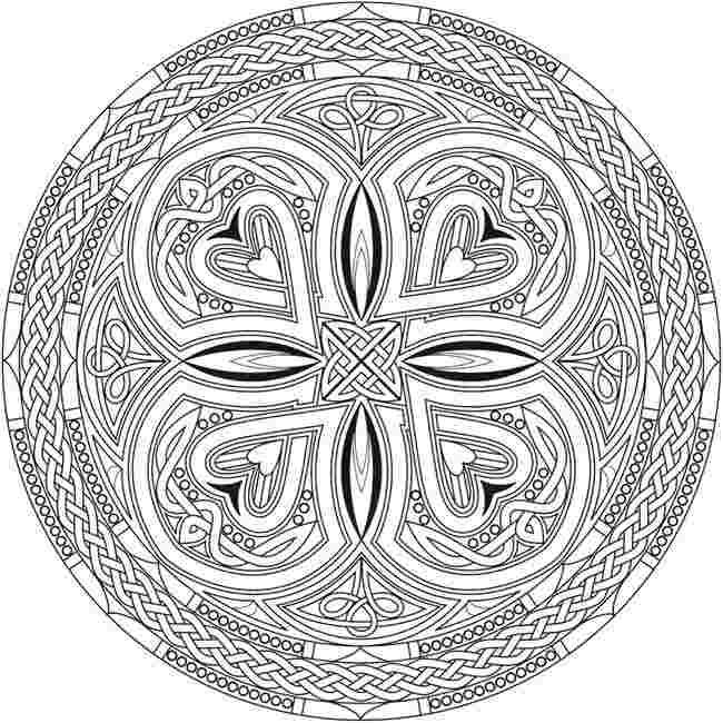 celtic mandala coloring pages celtic mandala with flower
