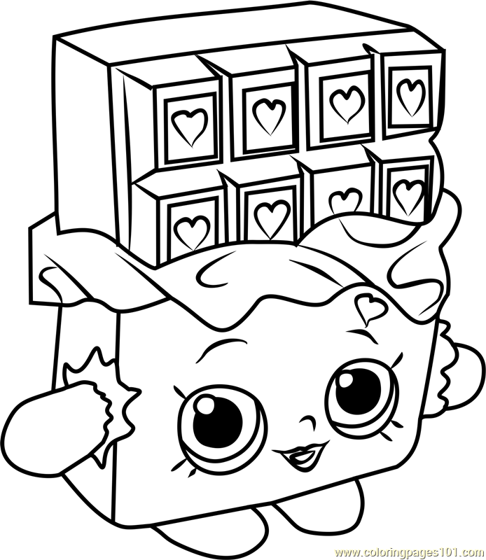 cheeky chocolate shopkins coloring page free shopkins
