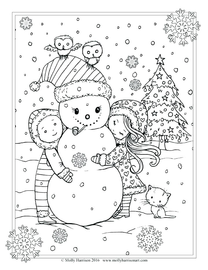 christmas adult coloring pages free at getdrawings
