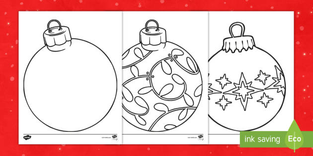 christmas ornaments coloring sheets christmas coloring