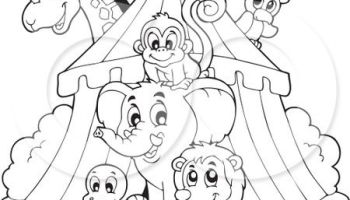 Tent Coloring Pages - GetColoringPages.com | 200x350