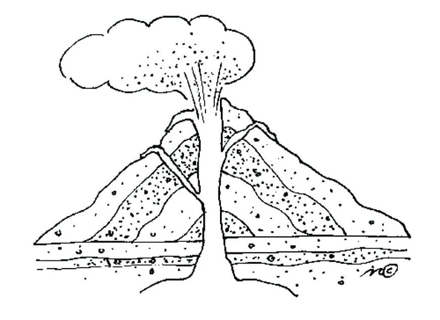 city volcano coloring pages page elegant crayola photo epic