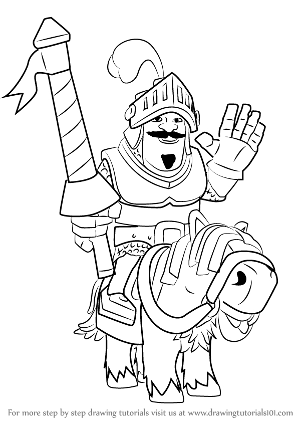 clash royale coloring pages gallery fun for kids