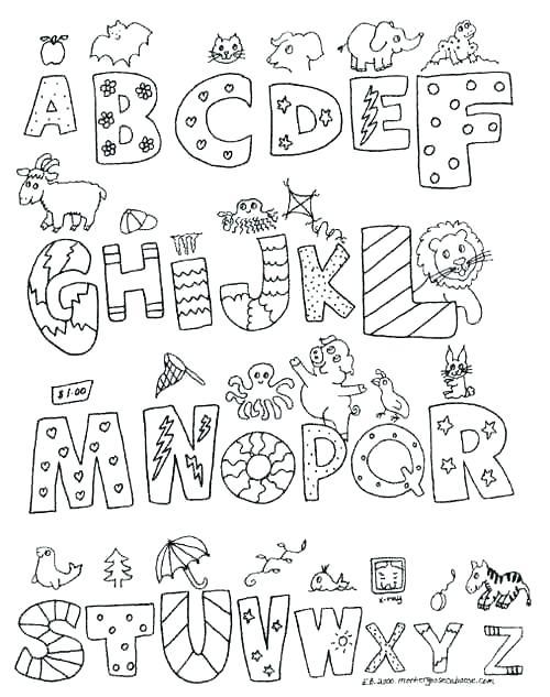 classy idea coloring pages s print alphabet to color abc