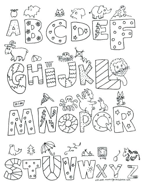 classy idea coloring pages s print alphabet to color abc