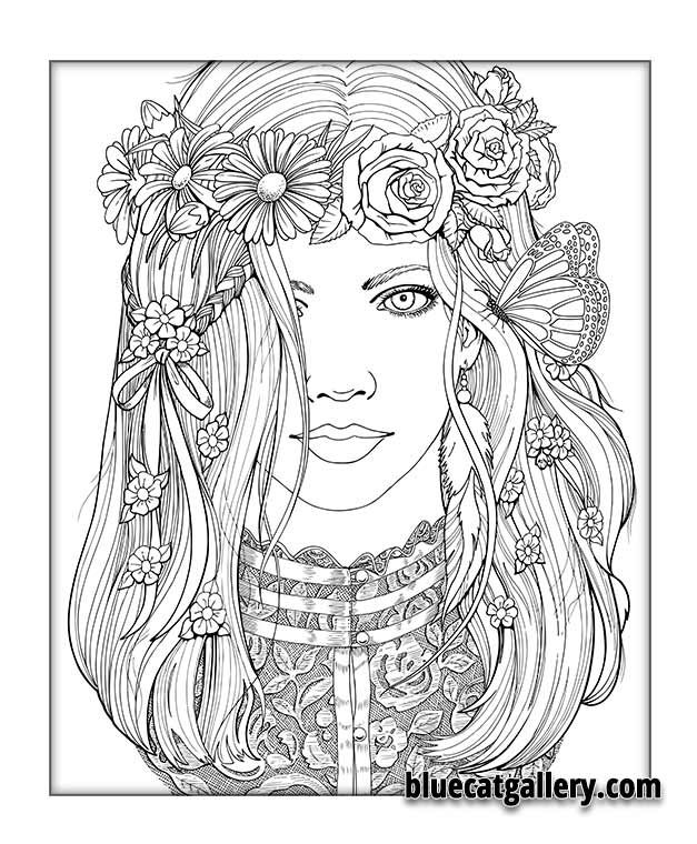 color me beautiful women of the world coloring book