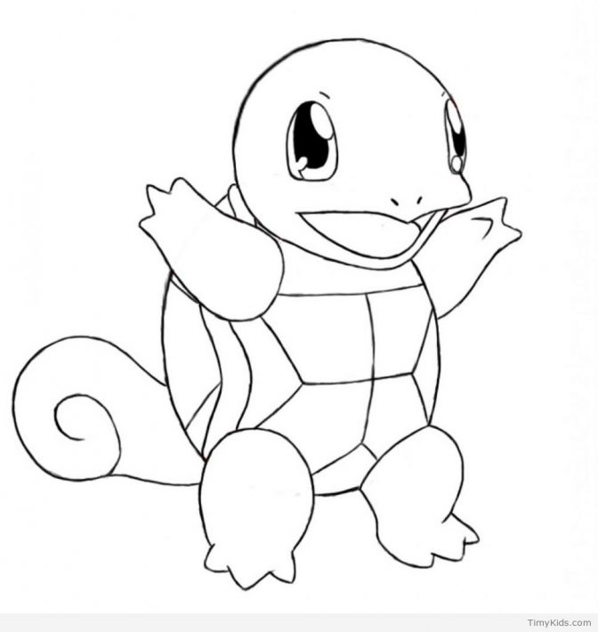 color pages pokemon 000 splendi squirtle coloring page
