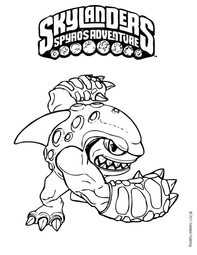 color pages skylanders coloring photo inspirations color