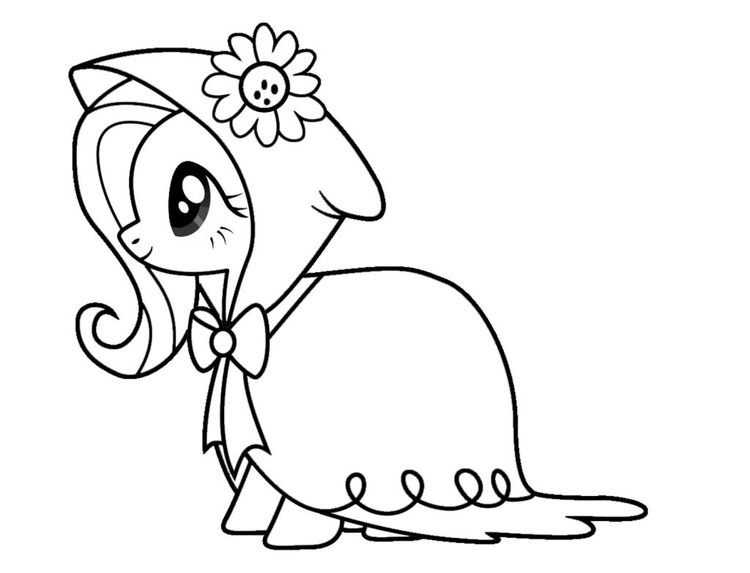 coloring and activity sheets fluttershy coloring pages