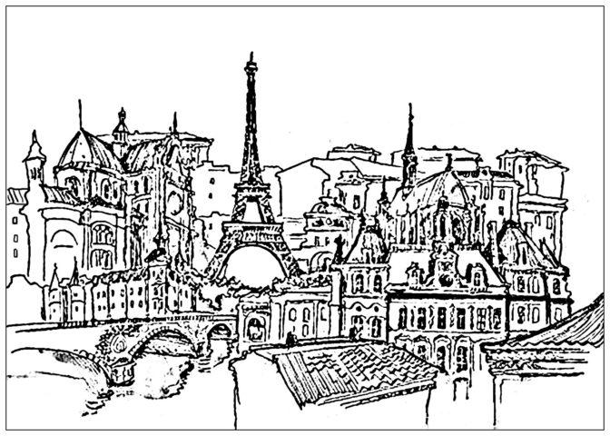 coloring book amazing paris coloring pages picture ideas