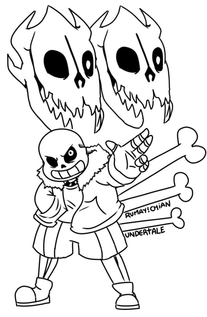 coloring book coloring pages undertale free sheets