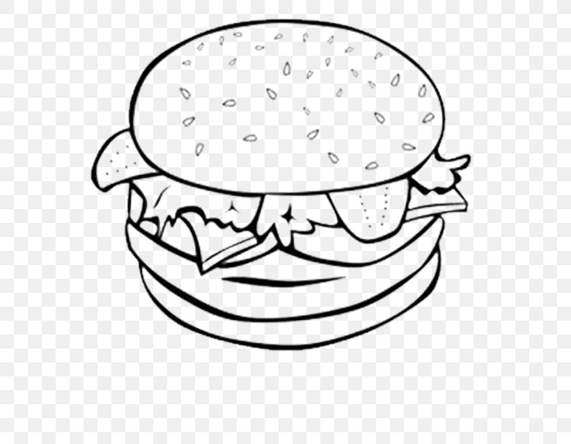 Sandwich Coloring Page - Ultra Coloring Pages   637x820