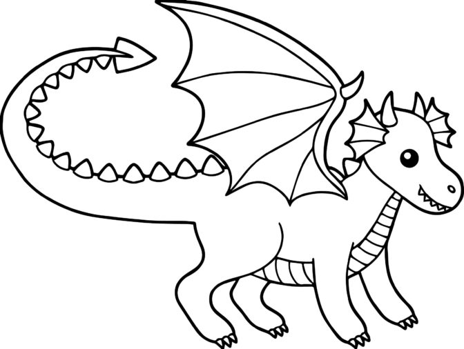 coloring book printable ba dragon coloring pages for