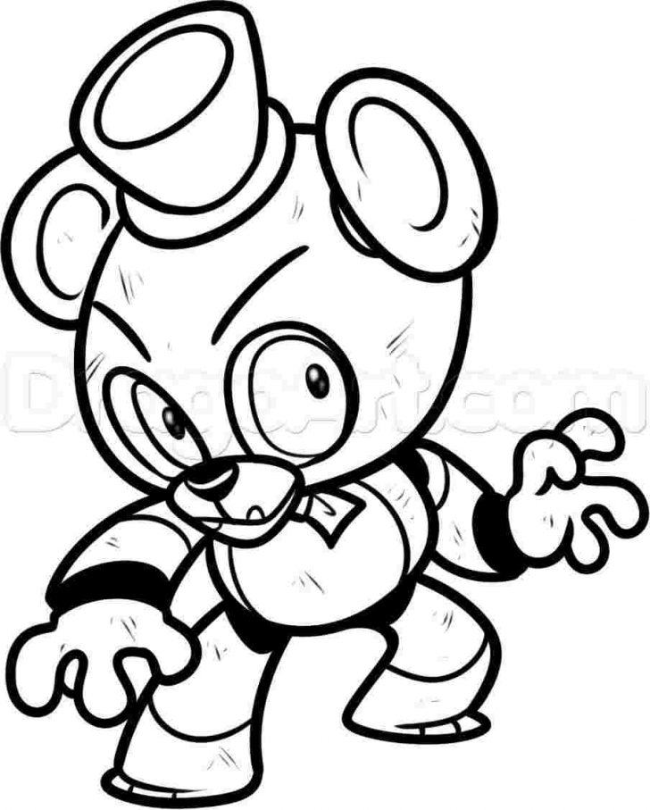coloring books five nights at freddys coloring pages