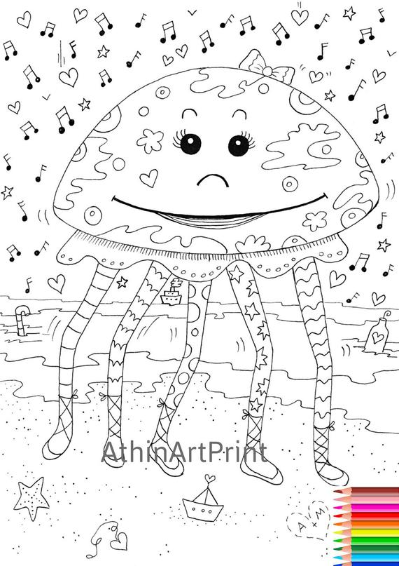 coloring page printable coloring page funny coloring page adult coloring page digital coloring kids coloring pages instant download