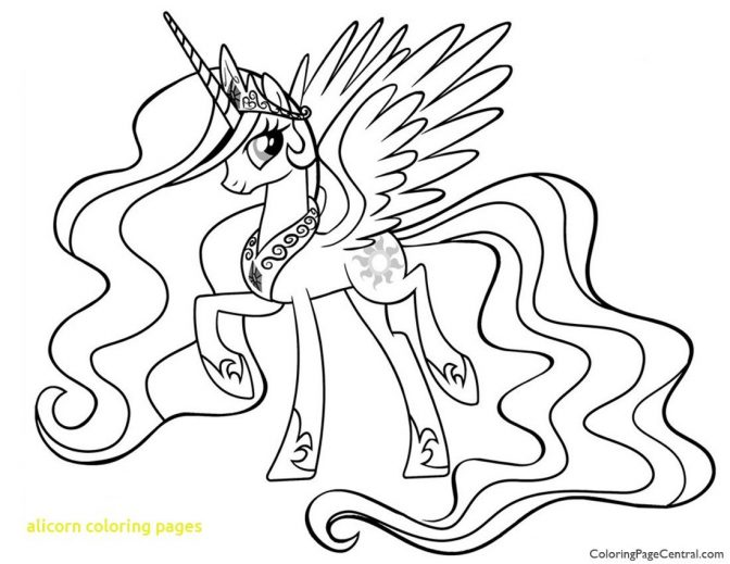 coloring pages alicorn coloring pages at getdrawings com