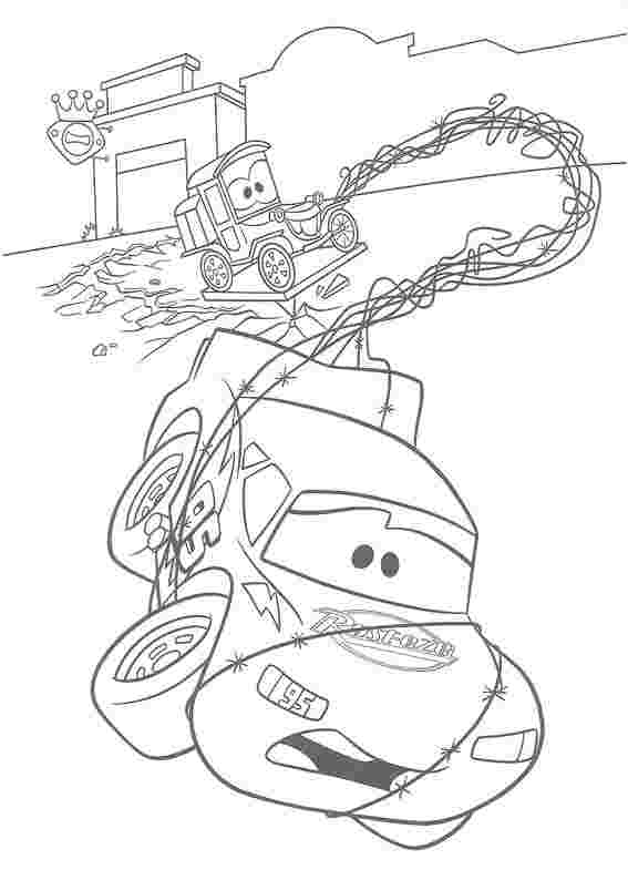 coloring pages cars 3 huangfei