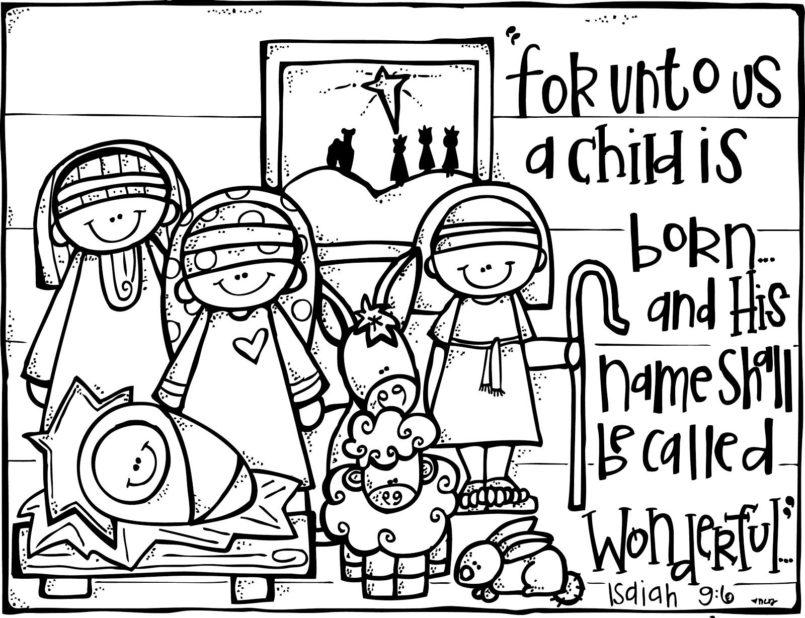 coloring pages christmas activities free nativity coloring