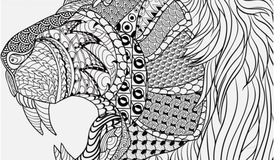 coloring pages cool designs pics cool animal mandala