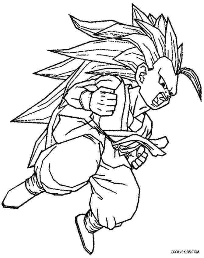 coloring pages dragon ball z goku dragon ball z goku