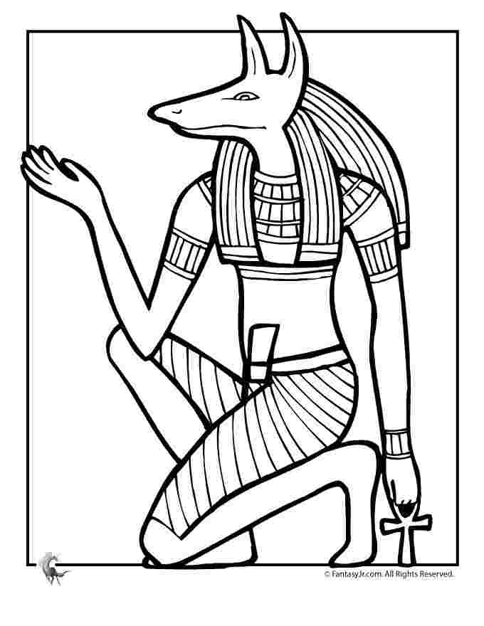 coloring pages egyptian gods gods and goddesses of ancient