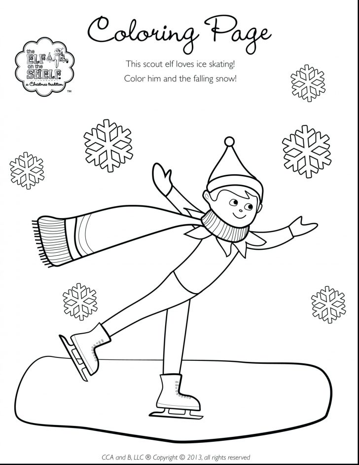 coloring pages elf on the shelf coloring pages to print